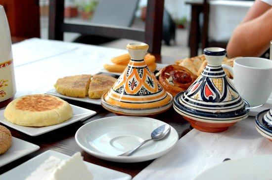 Dar el kasbah : Breakfast