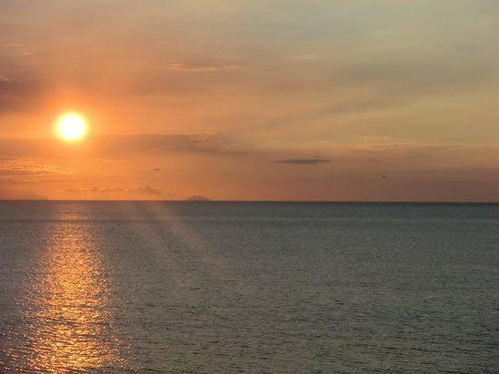 Le Casette sul Mare: Sonnenuntergang
