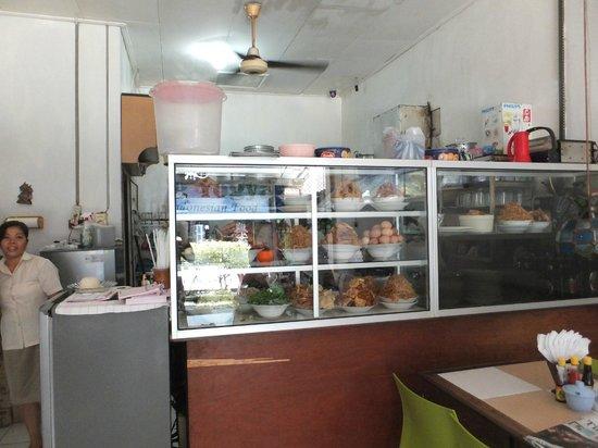 Warung Yogya : 店内