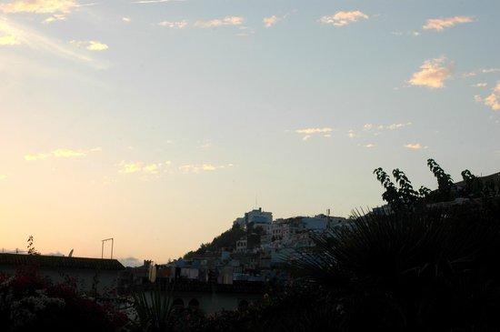 Dar Echchaouen: Blick aus dem Fenster