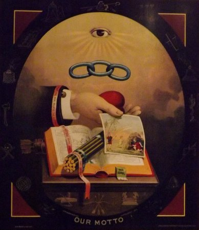 Missouri History Museum : 19th century optimist club art