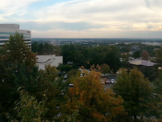 Hyatt Place Greenville/Haywood: view from room