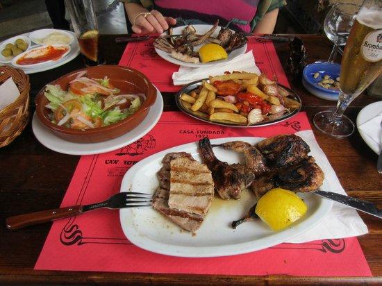 Ca'n Torrat: Our 55 EUR lunch