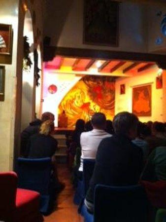 Tablao Flamenco Los Gallos: la scène