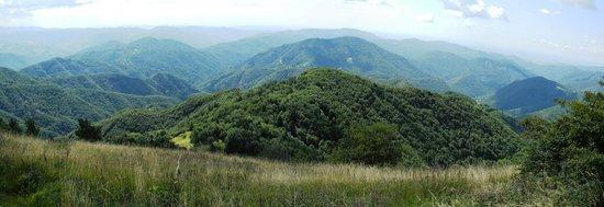 Albergo Diffuso Valli del Natisone : Aussicht vom Kolovrat nach Süden