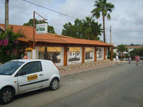 Sa Paissa: Restaurant from outside 2