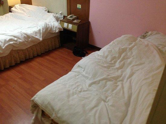 Zhong An Inn Beijing Andingmen: Beds