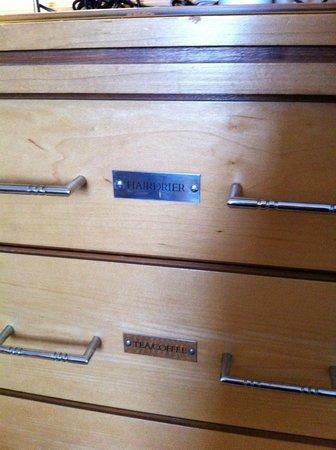Thistle Euston : Handy labels
