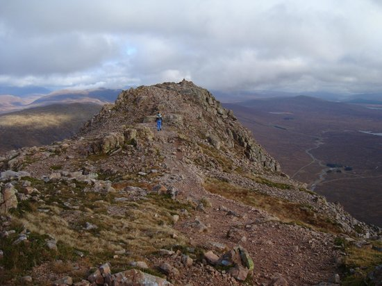 Clan Cottages: Summit of Stob Dearg (Buachaille Etive Mor)