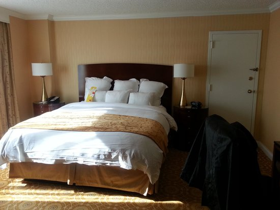 Falls Church Marriott Fairview Park: mini suite, room 362