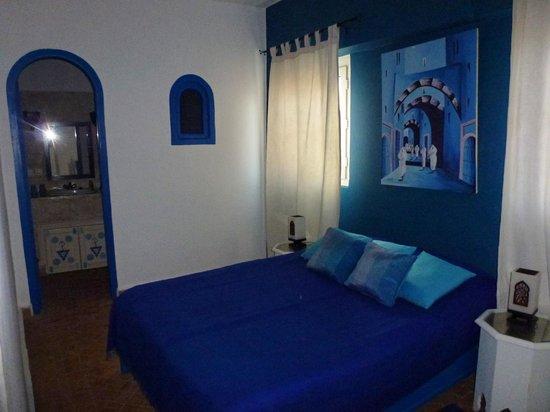Riad Dar Nafoura : Chambre bleue