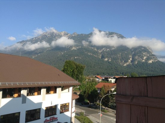 Hotel Roter Hahn: The view from the balcony 2