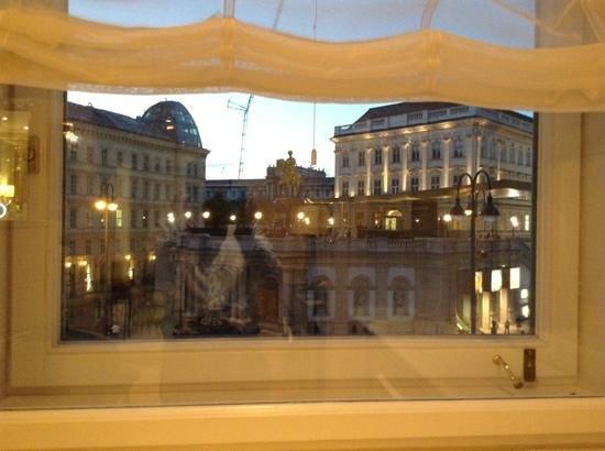 Hotel Sacher Wien: Blick auf die Albertina