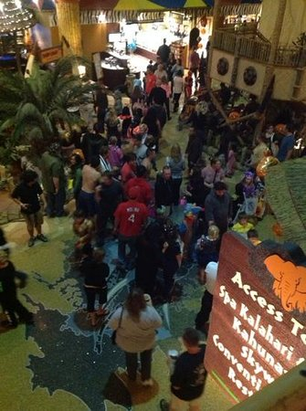 Kalahari Resorts & Conventions: Trick or treating.