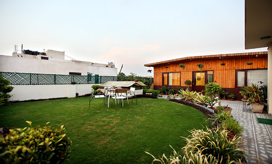 Vandana's Bed and Breakfast: terrace garden's rooms