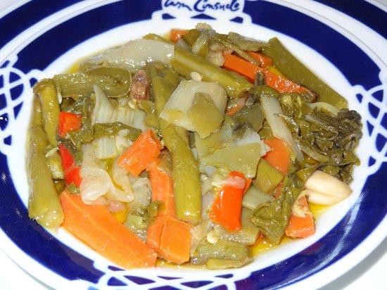 Casa Consuelo : El suave y delicioso escabeche de verduras
