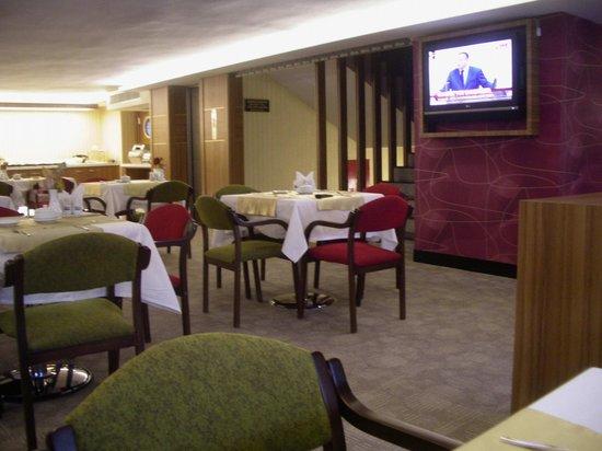Bent Hotel : The breakfast room