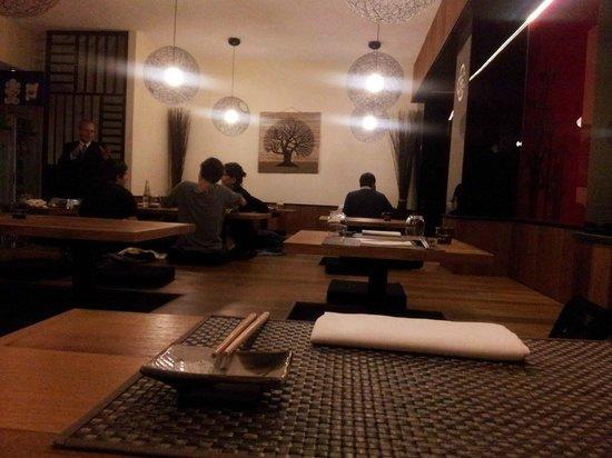 Sushi Zen: Sala da pranzo