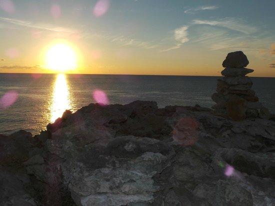 cala saona tramonto