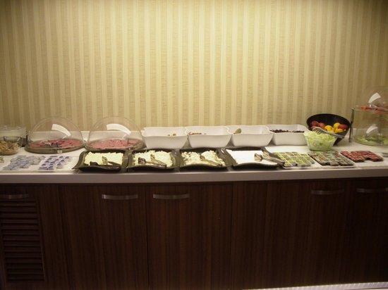 Bent Hotel : Breakfast details