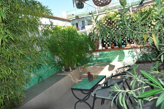 Cerasiello : Terrasse
