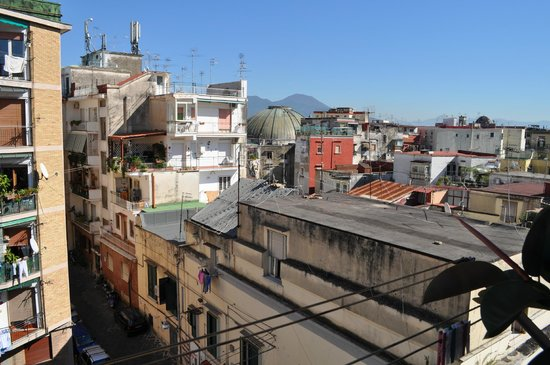 Cerasiello : Vue de la terrasse