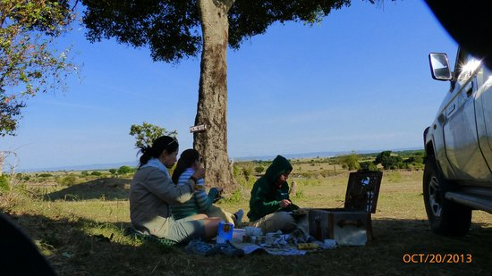 Lemala Kuria Hills Lodge: Picnic lunch provided by the lodge