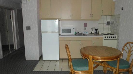 Ilima Hotel : cozinha completa
