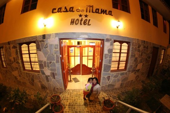 Hotel Casa de Mama Valle: Fachada