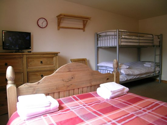 Happy Haggis Fish & Chips & Accommodation: One of our family rooms.