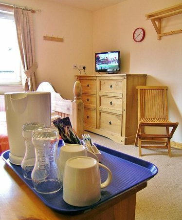 """Happy Haggis Fish & Chips & Accommodation: 22"""" TV/DVD players in every room so you can sit back and relax."""