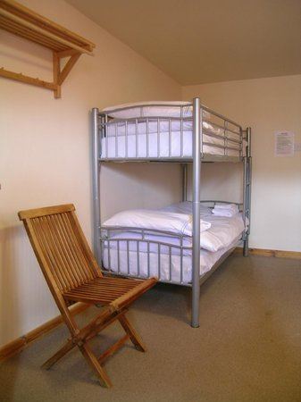 Happy Haggis Fish & Chips & Accommodation: Bunk beds in our family rooms.