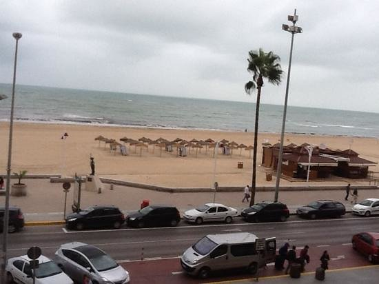 Tryp Cadiz la Caleta Hotel: View from room
