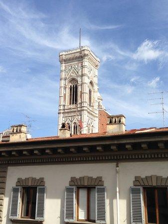 Palazzo Niccolini al Duomo : 窓から