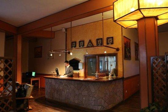 Andasibe Hotel: reception