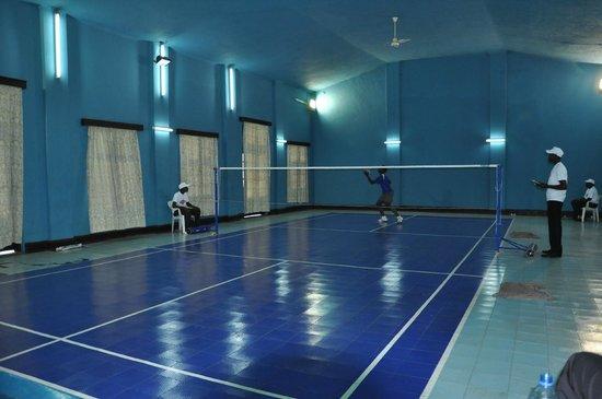 Shangri-La Hotel Uganda Ltd.: badmiton court