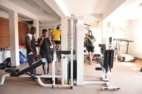 Shangri-La Hotel Uganda Ltd.: gym