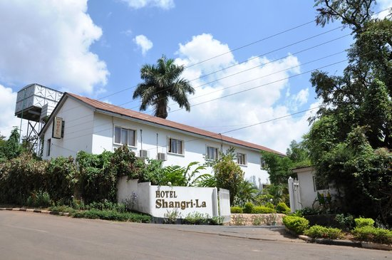 Shangri-La Hotel Uganda Ltd.: hotel gate
