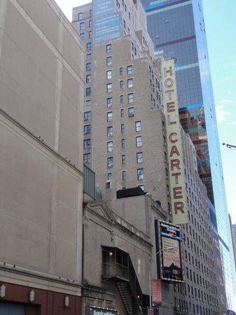 โรงแรมคาร์เตอร์: Facade de l'Hotel Carter
