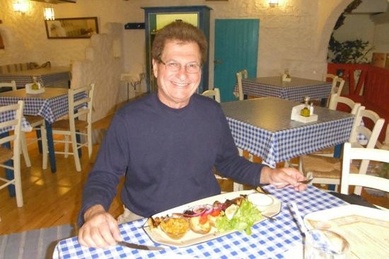 Zorbas Taverna: Quelle assiette!