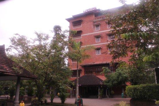 Pagoda Resorts Alleppey: Main resort building
