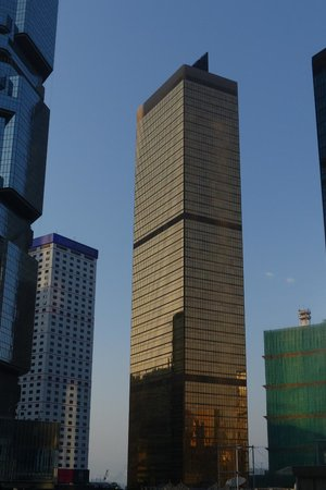 Far East Finance Centre - The bronze building
