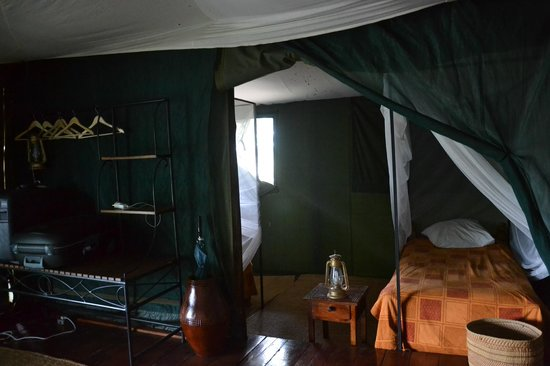 Ngorongoro Forest Tented Lodge: Salle de bain