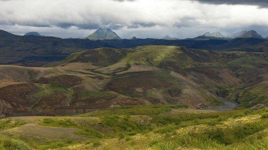 Volcano Huts Thorsmork: Short hike from The Volcano Huts