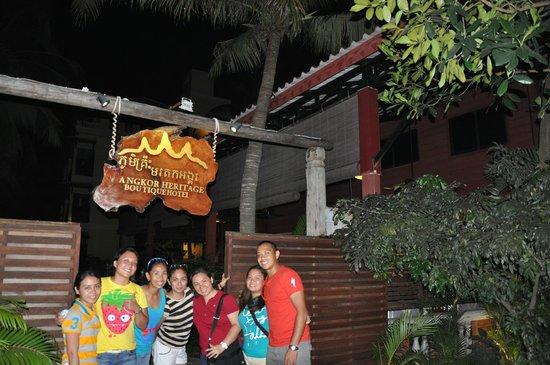 Angkor Heritage Boutique Hotel: Hotel entrance