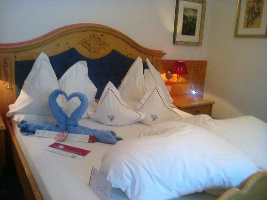 Hotel Ritterhof: Accoglienza in camera