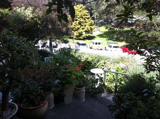 Peace and Plenty Inn: Part of the garden