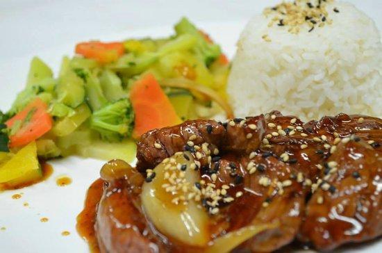 Genki Sushi & Deli : Lomito (Meat) Teriyaki