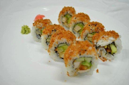 Genki Sushi & Deli: Pollo (Chicken) Tempura Roll