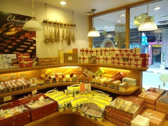 Ops Bakery Haeundae: The chocolate corner